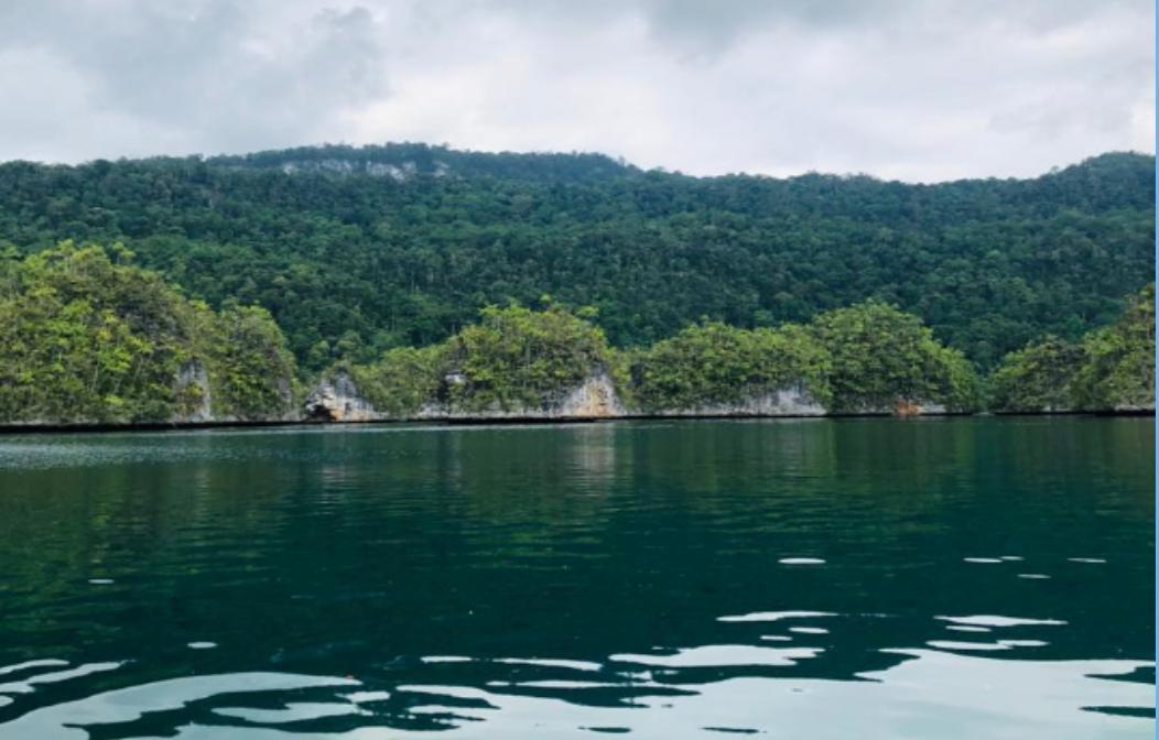 Teluk Triton dengan keindahannya