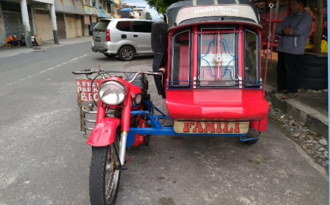 Becak Motor BSA