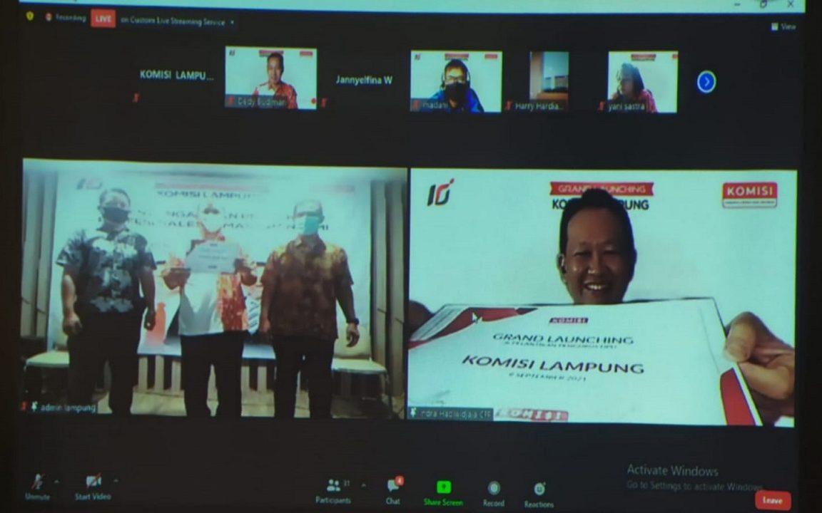 Pelantikan DPD Komisi Lampung