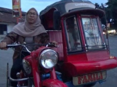 Becak Motor BSA
